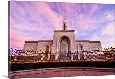 Lubbock Texas Temple, Side, Sunrise, Lubbock, Texas