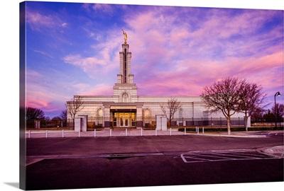 Lubbock Texas Temple, Sunrise, Lubbock, Texas