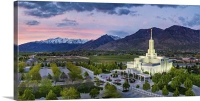 Mount Timpanogos Utah Temple, Nestled in the Mountains, American Fork, Utah