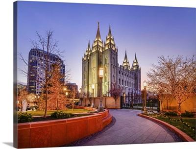 Salt Lake Temple, Christmas at Temple Square, Salt Lake City, Utah