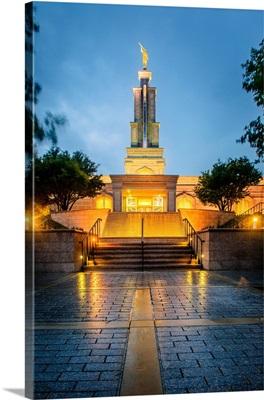 San Antonio Texas Temple, After the Rain, San Antonio, Texas