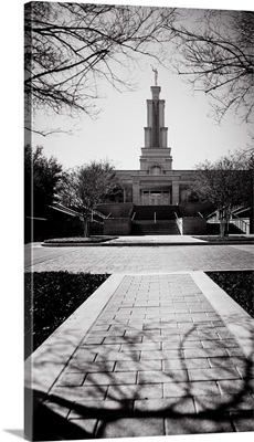 San Antonio Texas Temple, Black and White, San Antonio, Texas