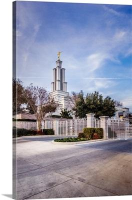 San Antonio Texas Temple, From the Gates, San Antonio, Texas