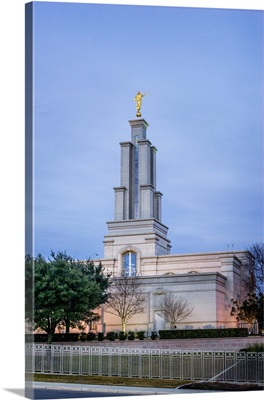 San Antonio Texas Temple, Spire at Sunset, San Antonio, Texas