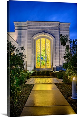 San Antonio Texas Temple, Stained Glass Window, San Antonio, Texas