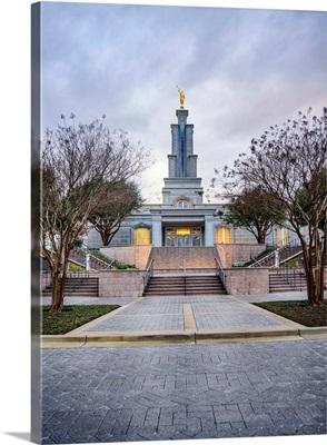 San Antonio Texas Temple, Walking Up, San Antonio, Texas