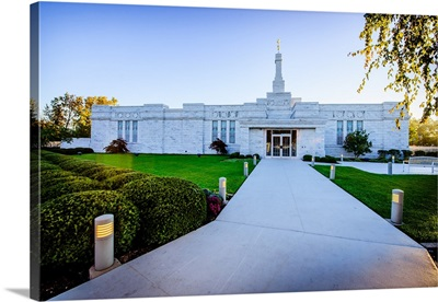 Walkway to the Columbus Ohio Temple, Columbus, Ohio