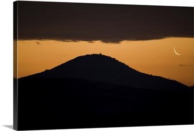 African Moonrise