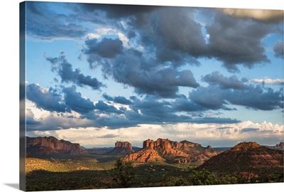 Cathedral Rocks at sunset in Sedona, Arizona