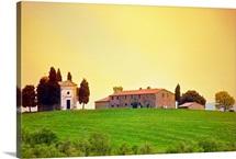 Farm buildings in Tuscany, Italy