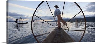 Fisherman in Inle Lake, Burma