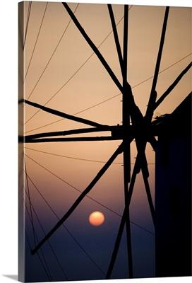 Greek Windmills Mykonos