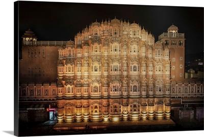 Hawa Mahal In The Pink City Of Jaipur, India