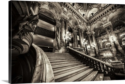 Inside the Grand Opera, Paris, France