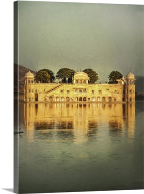 Jal Mahal floating water palce in Jaipur, India