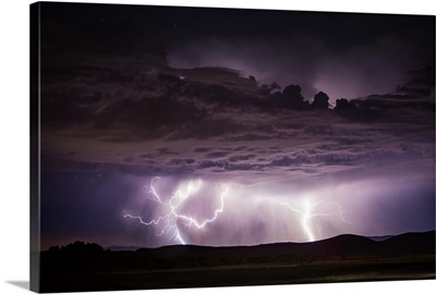 Lighting above Sedona, Arizona