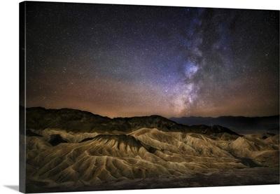 Milky Way Over Zabriski Point In Death Valley National Park