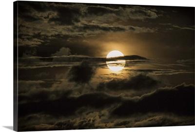 Moonrise in Sedona