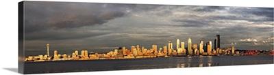 Panoramic view of Seattle, Washington