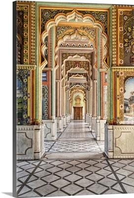 Patrika Gate In Jawahar Circle, Jaipur, India