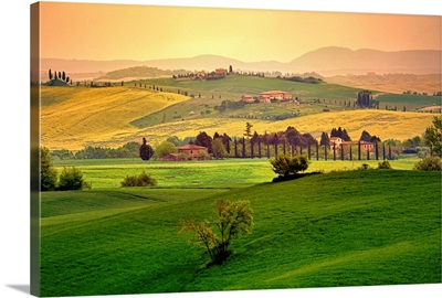 Rolling fields, Tuscany, Italy