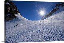 Skiing the Mountain, Mammoth Mountain, California