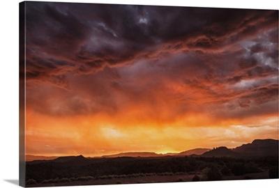 Storm over Sedona