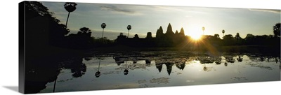 Sunrise over Angkor Wat Temple, Cambodia