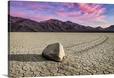 Sunset at the Racetrack in Death Valley National Park