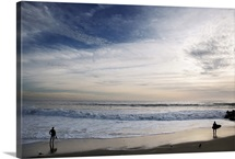 Surfers and Clouds