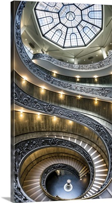 The Momo spiral staircase in the Vatican, Rome