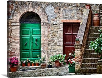 Tuscan village, Tuscany, Italy