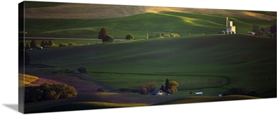 View from Steptoe Butte in the Palouse, Washington