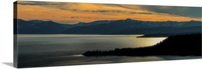 Lake Tahoe at Sunset, California