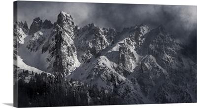 Monochrome Mont Blanc