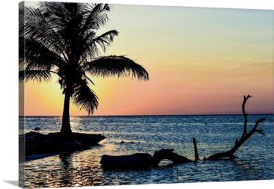 Sunset In Southern Belize