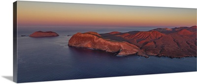 The Legendary Guadalupe Island At Sunset