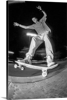 Vintage Photo Of Legendary Actor Jason Lee, Was Also An Insane Skateboarder