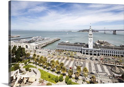 Aerial View Of Port Of San Francisco