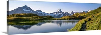 Bachalpsee Lake, Grindelwald Valley, Switzerland Alps