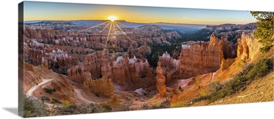 Beautiful View In Bryce Canyon