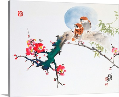 Blossoms and Sparrows