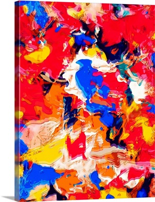 Brightly Colored Abstract