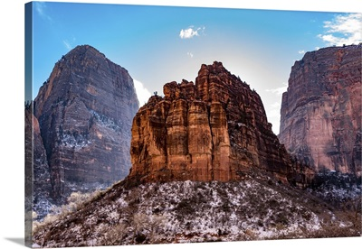 Butte At Zion National Park