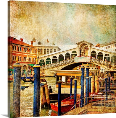 Colors of the Rialto Bridge, Venice