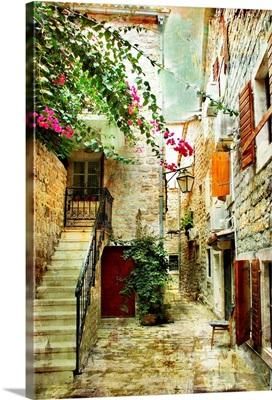 Courtyard in Old Croatia