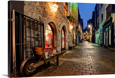 Galway, Ireland, at Night