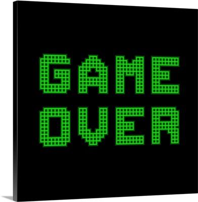 Game Over, Pixel Art