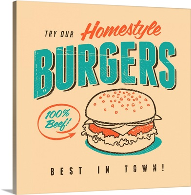 Homestyle Burgers