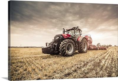 Modern Red Tractor, Czech Republic